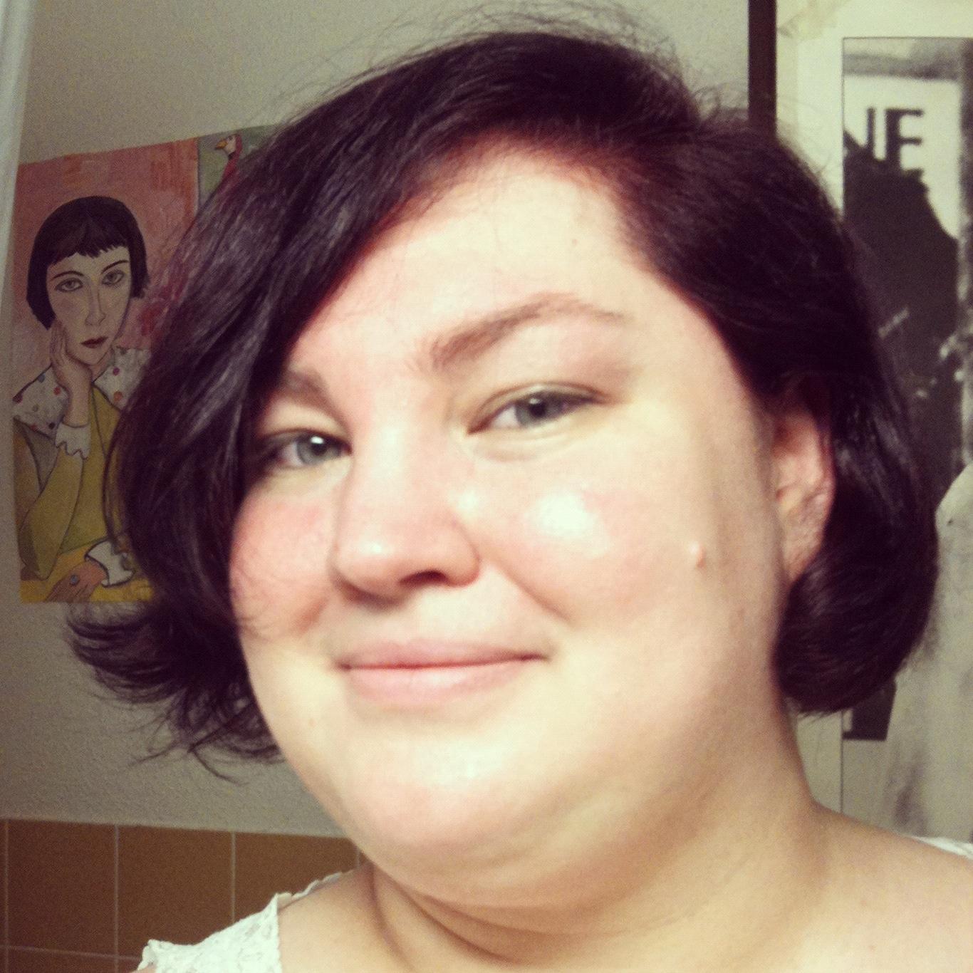 Short Hair, Big Girl: Eggplant Fantasy!